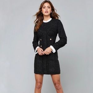 Bebe Soraya Tweed Dress
